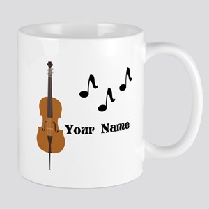 Cello Music Personalized Mugs