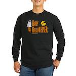 Happy HalloWEINER Long Sleeve Dark T-Shirt