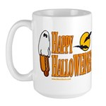 Happy HalloWEINER Large Mug