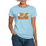 Happy HalloWEINER Women's Light T-Shirt