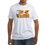 Happy HalloWEINER Fitted T-Shirt