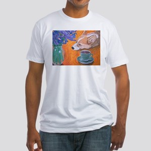 Coffee break Fitted T-Shirt