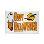 Happy HalloWEINER Rectangle Magnet (100 pack)