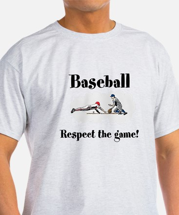 Baseball Respect the Game T-Shirt
