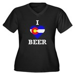 I Heart Colorado Beer Plus Size T-Shirt