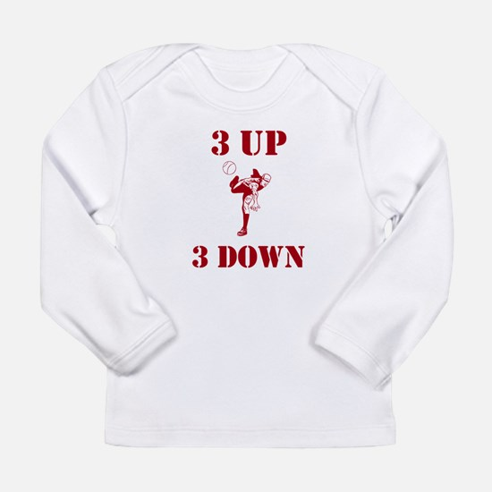 3 Up 3 Down Long Sleeve Infant T-Shirt