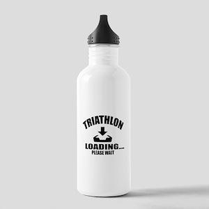 Triathlon Loading Plea Stainless Water Bottle 1.0L