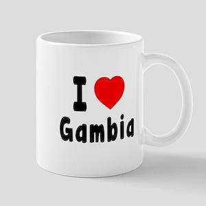 I Love Gambia Mug