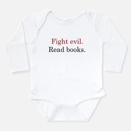 Cute Librarian Long Sleeve Infant Bodysuit