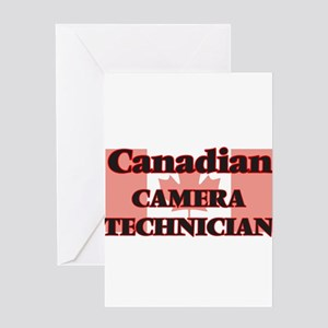 Canadian Camera Technician Greeting Cards