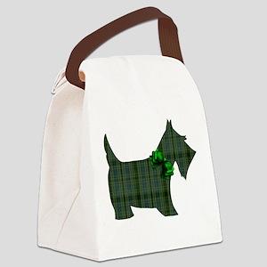 Harvest Moons Scottie Canvas Lunch Bag