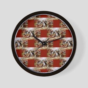 1st thanksgiving Wall Clock