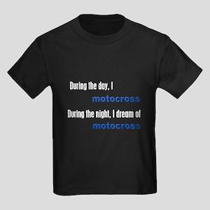 I Dream Motocross Kids Dark T-Shirt