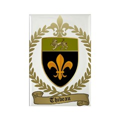 THIBEAU Family Crest Rectangle Magnet (10 pack)