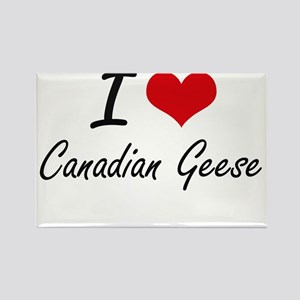 I love Canadian Geese Artistic Design Magnets