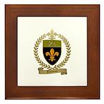 THIBEAU Family Crest Framed Tile