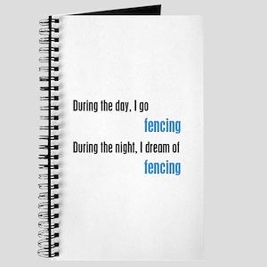 I Dream Fencing Journal