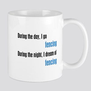 I Dream Fencing Mug