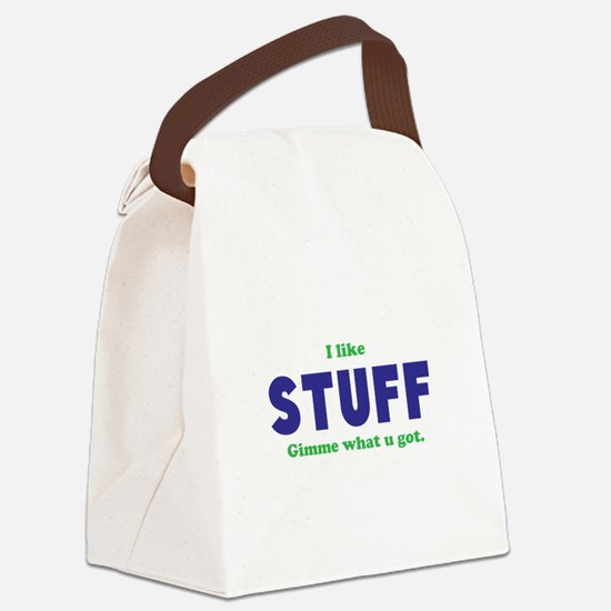 Stuff Canvas Lunch Bag