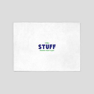 Stuff 5'x7'Area Rug