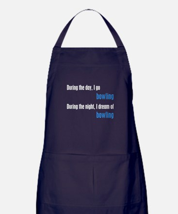 I Dream Bowling Apron (dark)