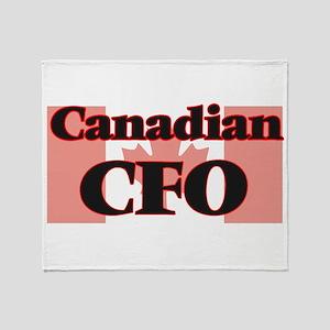 Canadian Cfo Throw Blanket