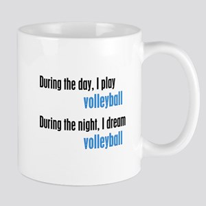 I Dream Volleyball Mug