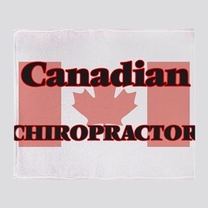 Canadian Chiropractor Throw Blanket