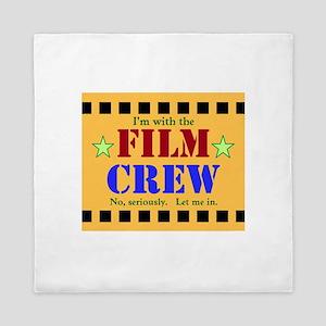 Film Crew Queen Duvet