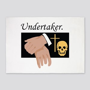 Undertaker 5'x7'Area Rug