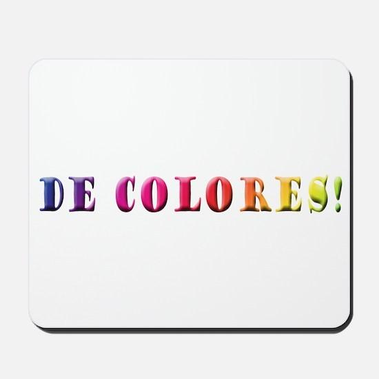 DeColores! Mousepad