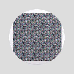 silver metallic Button