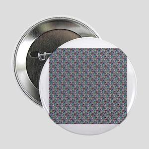 """silver metallic 2.25"""" Button"""