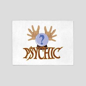 Crystal Ball Psychic 5'x7'Area Rug
