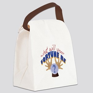 Your Fortune Canvas Lunch Bag