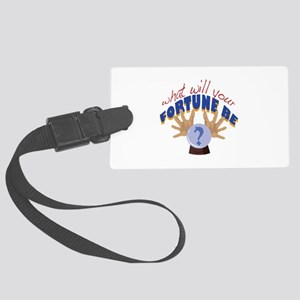 Your Fortune Luggage Tag