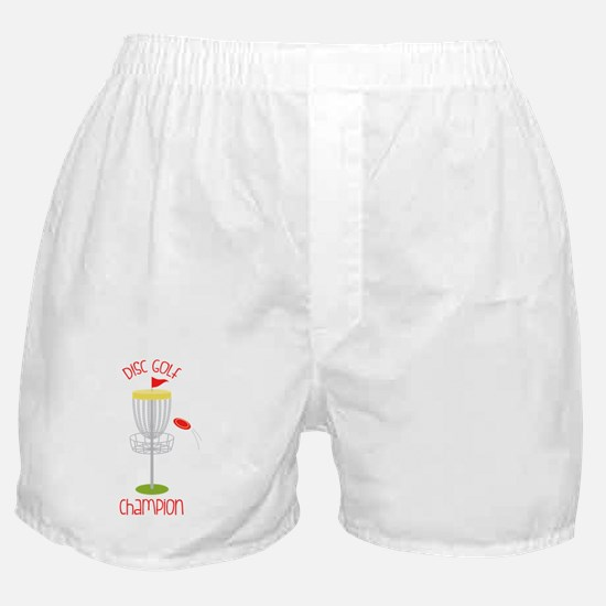 Disc Golf Champion Boxer Shorts