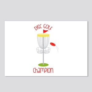 Disc Golf Champion Postcards (Package of 8)