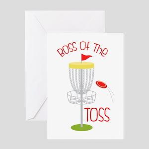 Toss Boss Greeting Cards