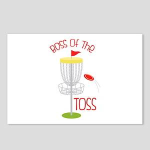 Toss Boss Postcards (Package of 8)