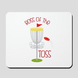 Toss Boss Mousepad