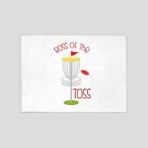 Toss Boss 5'x7'Area Rug