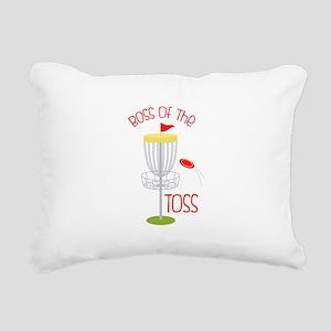 Toss Boss Rectangular Canvas Pillow