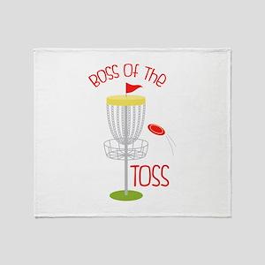 Toss Boss Throw Blanket