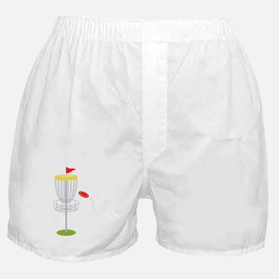 Frisbee Disc Golf Boxer Shorts