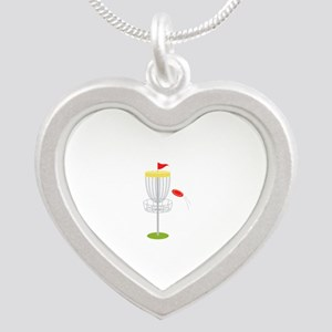 Frisbee Disc Golf Necklaces