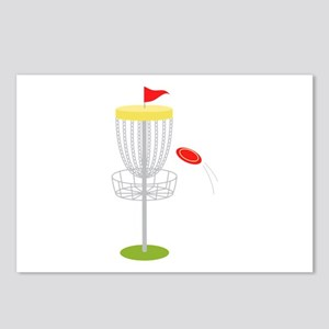 Frisbee Disc Golf Postcards (Package of 8)