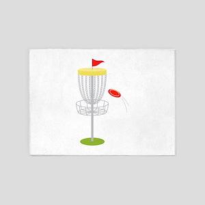 Frisbee Disc Golf 5'x7'Area Rug