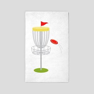 Frisbee Disc Golf Area Rug