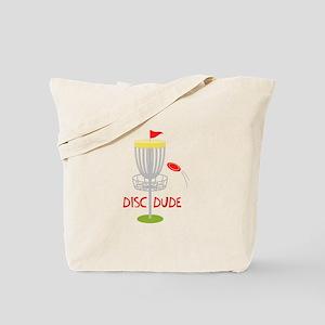 Frisbee Disc Dude Tote Bag